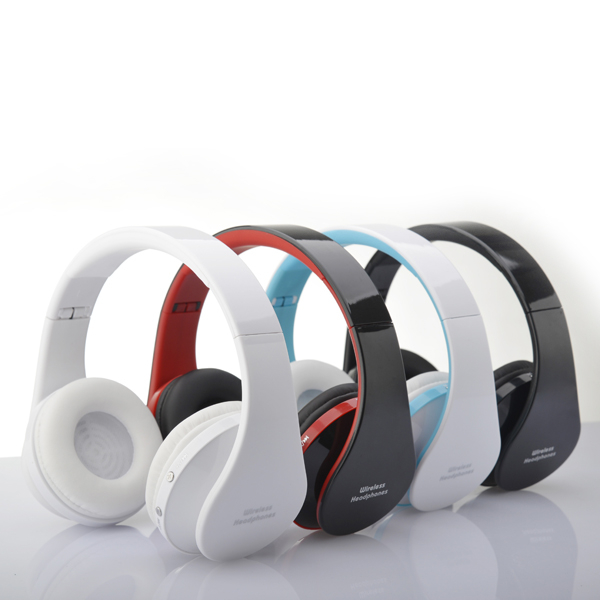 New 2014 Super Stereo Bluetooth Headphone With Fm Radio Handsfree Headset Jointop